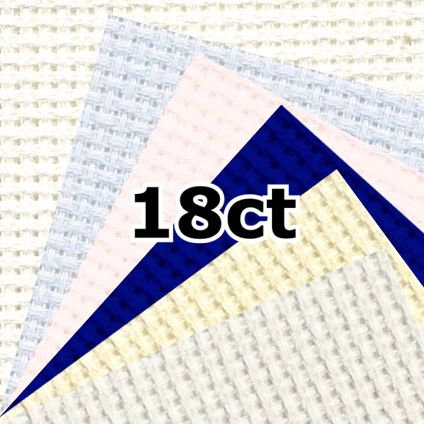 DMC DC38 18 Count Aida Fabric (Large)