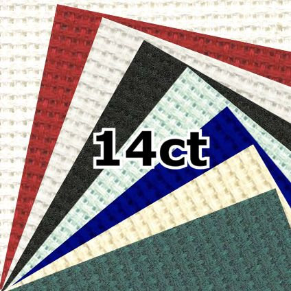 DMC DC27 14 Count Aida Fabric