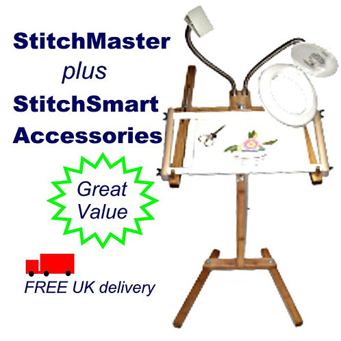 StitchMaster Floor Stand PLUS Accessory Pack