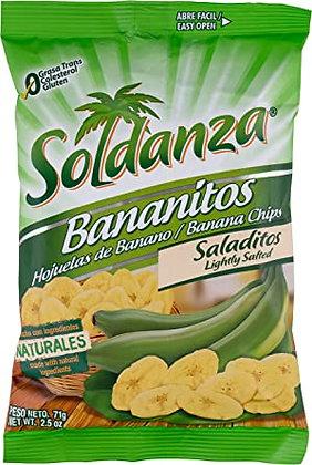 SOLDANZA BANANA CHIPS