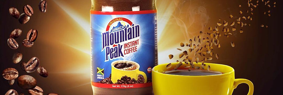 Mountain peak instant coffee ☕