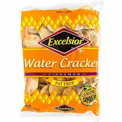Excelsior Water Crackers [Cinnamon]