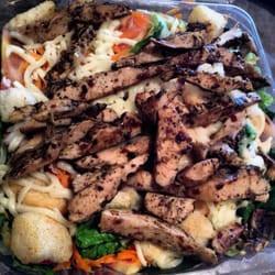 jerk salade