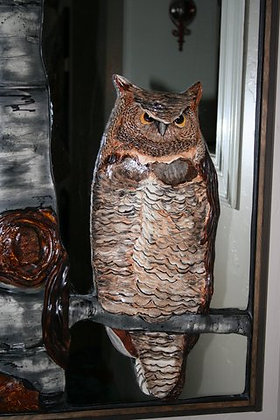 Great Horned Owl Mirror
