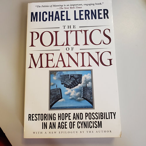 The Politics Of Meaning