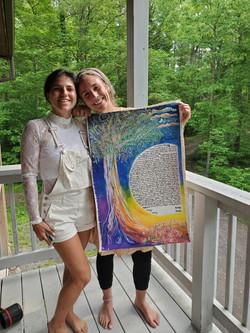 Natalya and Abby Ketubah