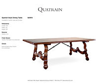 'Spanish Style Dining Table - Q0810-1.jp