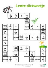 Lente dictweetje - spellingcategorieën g