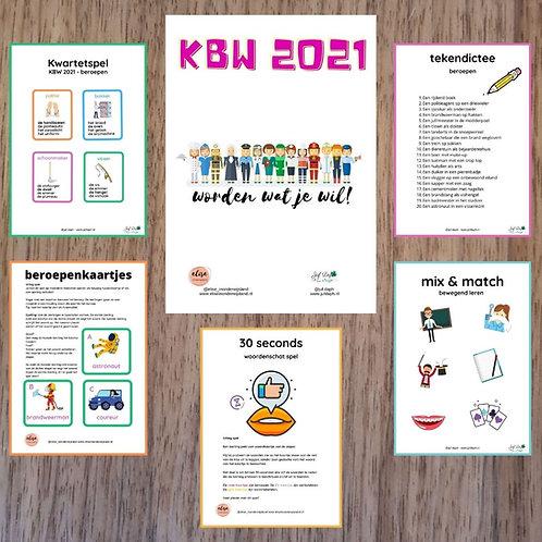 Kinderboekenweek 2021 themapakket (groep 5 t/m 8)