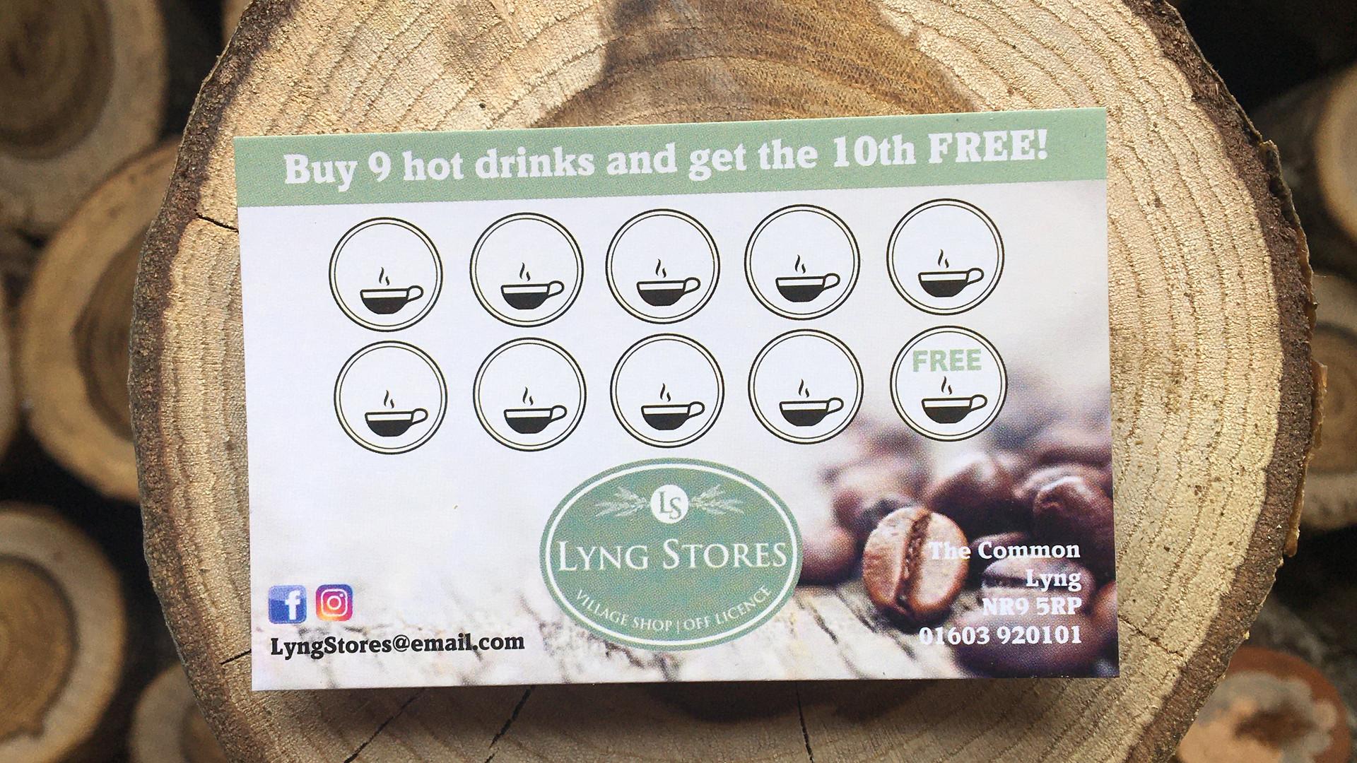 Café Loyalty Card