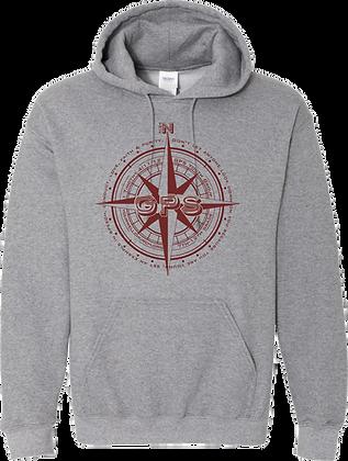 GPS Adult Hooded Sweatshirt