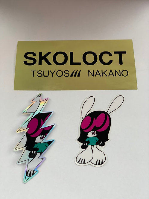 SKOLOCT Sticker 3pcs set