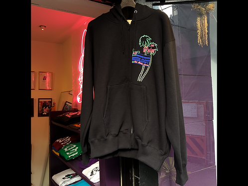 SKO Neon tree zip up hoodie