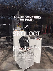 The Soloist.×SKOLOCT art exhibition/ pop up store in NY