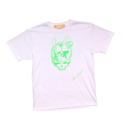 ARTGANGMONEY S/S Tee White/Green