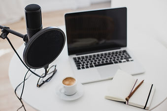 Items for recording podcast: professiona