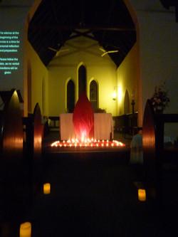 Pentecost Taize service