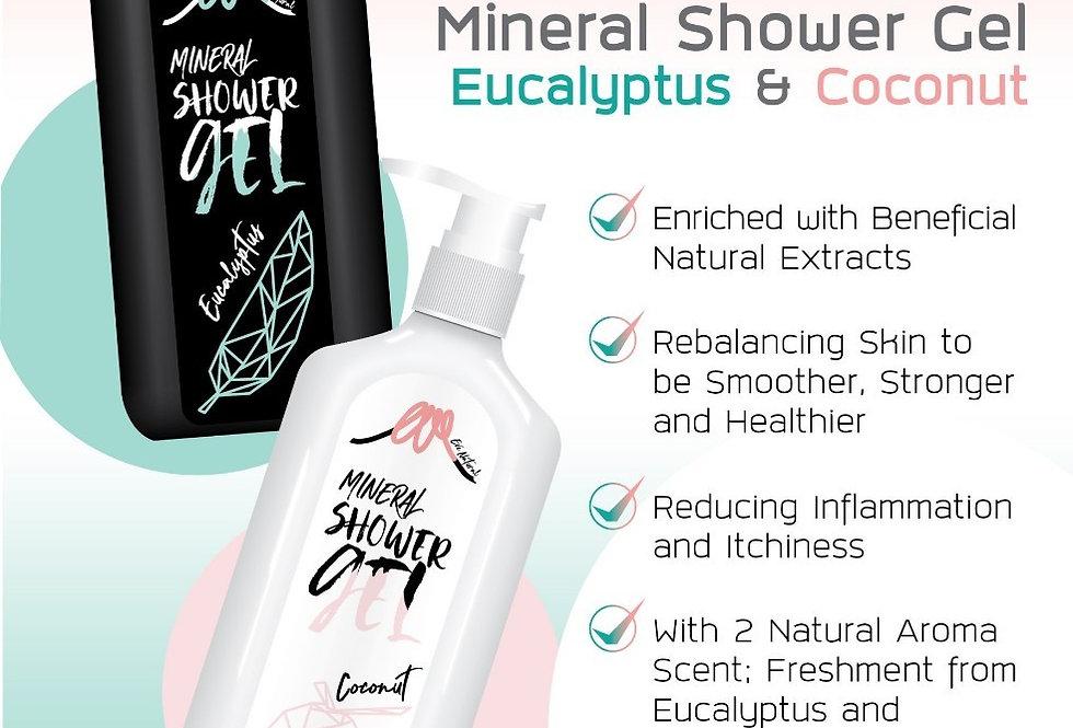 เจลอาบน้ำ กลิ่นยูคาลิปตัส (ขวดสีดำ) Shower Gel