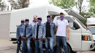 Our Team Of Delivery Drivers
