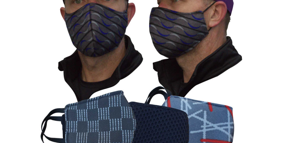 DELUXE PADDED FACE MASKS