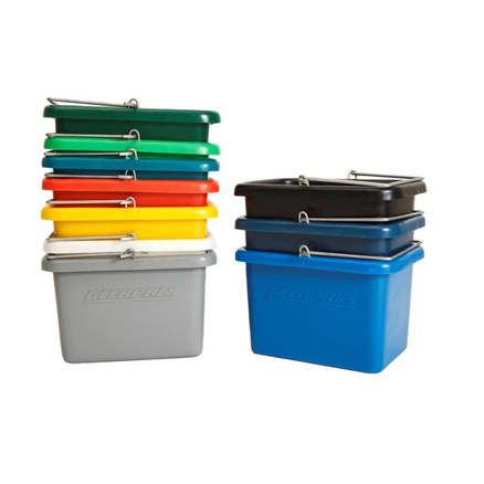 HEAVY DUTY BUCKETS - COLOUR CODED - 10LT,20LT AND 25LT