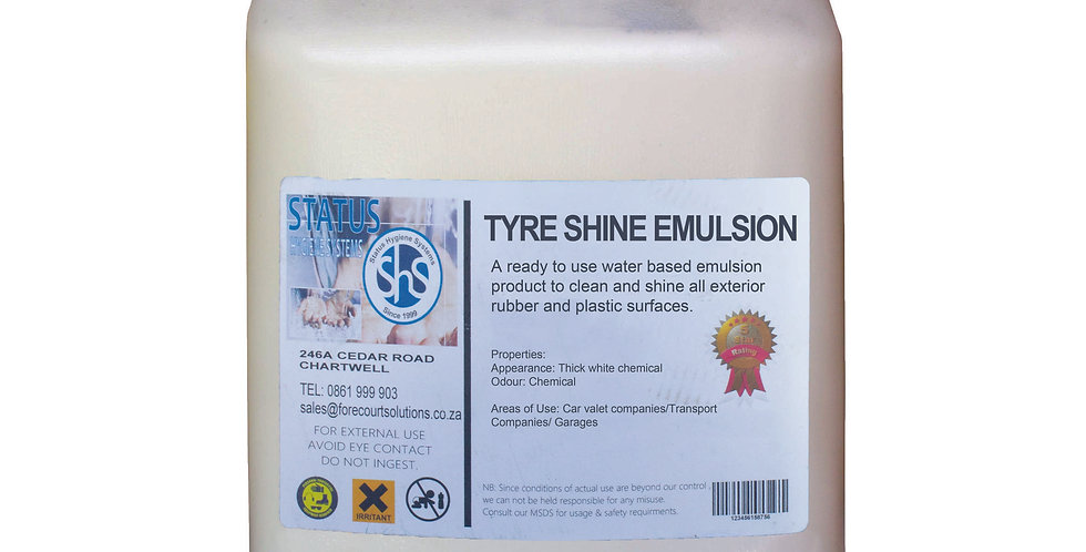 TYRE SHINE EMULSION
