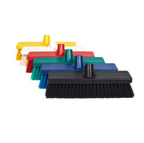 COLOUR CODED HYGIENE BROOM HEADS 300MM
