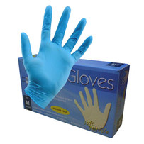NITRILE EXAMINATION GLOVES (100 IN A BOX)