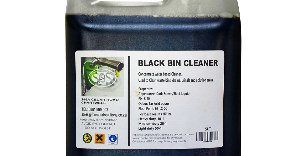 BLACK BIN CLEANER