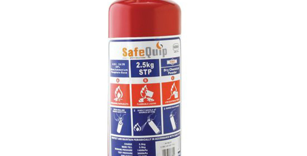 2.5kg DCP FIRE EXTINGUISHER (FIREMATE)
