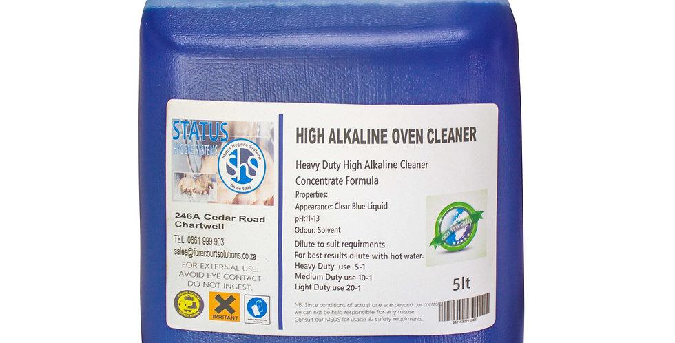 HIGH ALKALINE  OVEN CLEANER