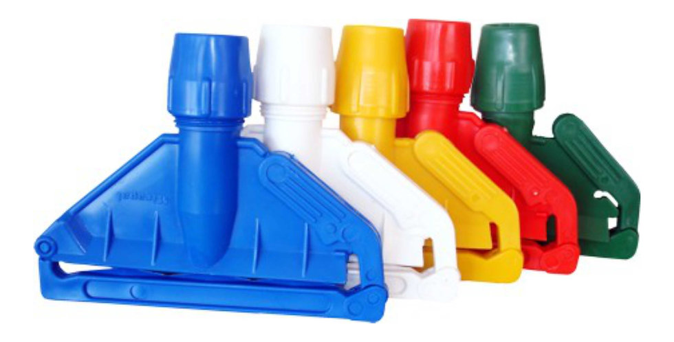 COLOUR CODED MOP HANDLE CLIPS
