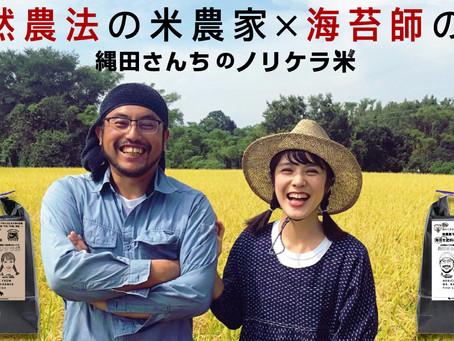 「1等級米」を獲得!!縄田さんちのノリケラ米を収穫できました