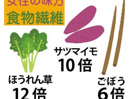 食物繊維は五大栄養素に次ぐ「第六の栄養素」として注目