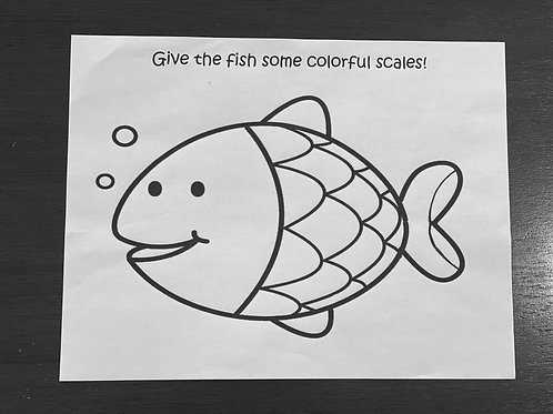 Fish-Placemat