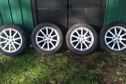 "Avensis 16"" SR alloy wheels and tyres 5x100"