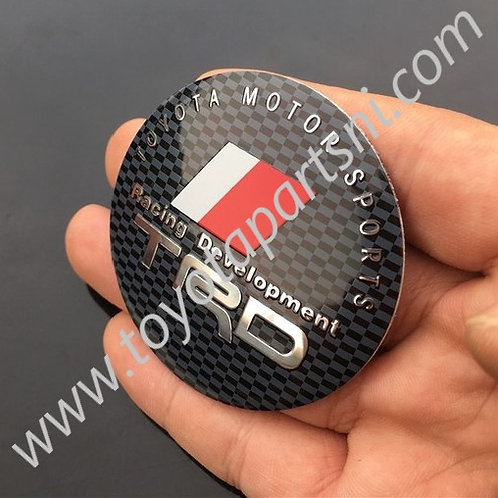 TRD wheel center hub cap sticker badge decals