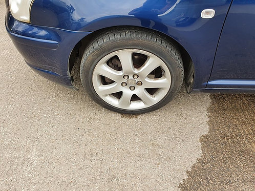 Avensis 17 inch T4 alloy wheels and tyres