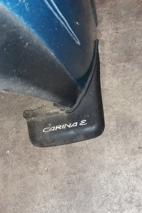 Original Carina E drivers side rear mud flap 93 - 97