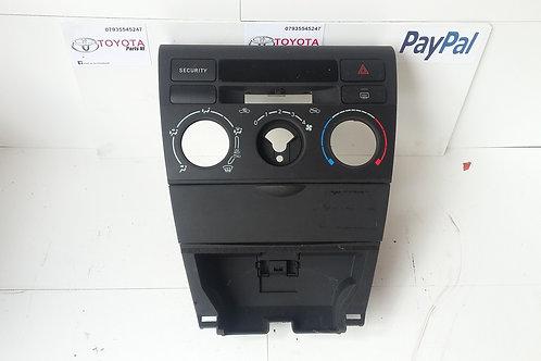 Corolla center console dash facia surround 03 - 07