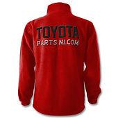 Toyota Parts NI kids zip hoodie