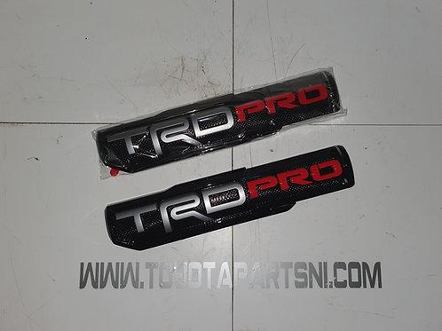 TRD Pro badge emblem Hilux Tacoma Tundra Landcruiser Rav4 7542704060 75428-04020