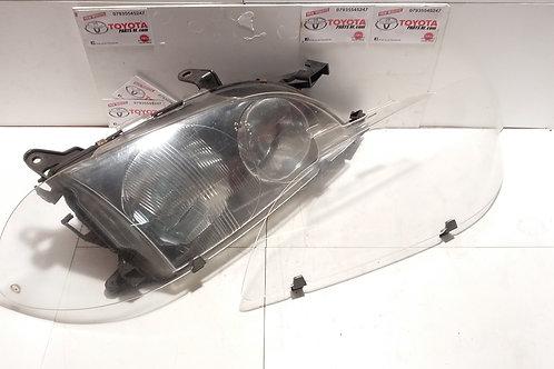 MK1 Avensis headlight protector covers (pair)