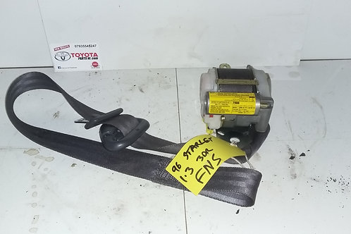EP91 Starlet front near side passengers side seat belt unit 96-99