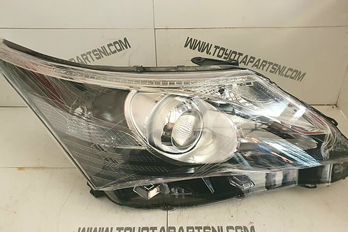 Avensis T27 front drivers side offside headlight unit 2011-15 with led DRL