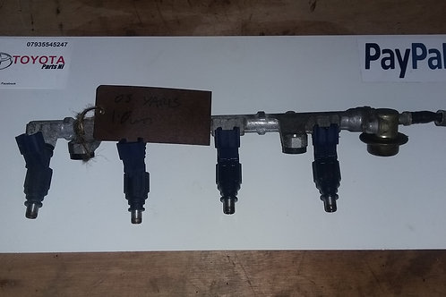 MK1 Yaris fuel rail and injectors(4) 1.0vvti