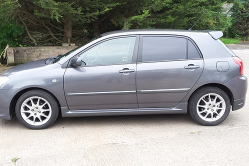"""E12 Corolla 16"""" SR T-sport alloy wheels and tyres"""