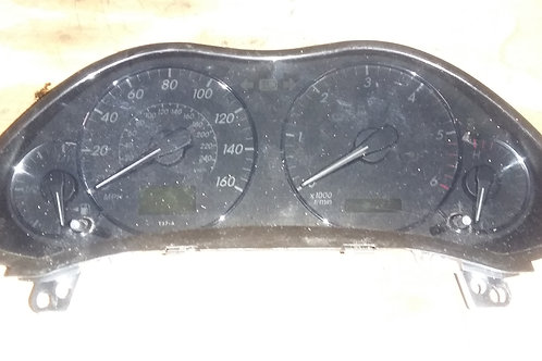 Avensis T3X dash clocks speedo / rev counter 2.0d4d 03 - 09