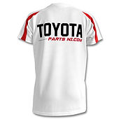 Toyota Parts NI Kids contrast sports t-shirt