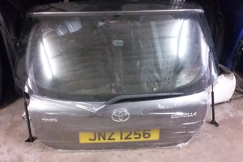 Corolla boot lid trunk hatchback 3dr grey 03-06
